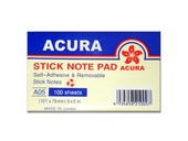 Acura Stick Note Pad PC.