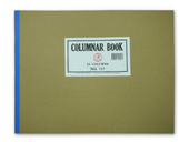 Columnar Notebook, #727 PC.