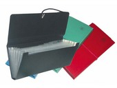 FL-04-01 Expanding Check Holder (Plain) 6-Pockets