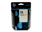 Ink, HP 78 Tri-color BX.