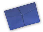Envelope, Blue w/ Garter, Legal